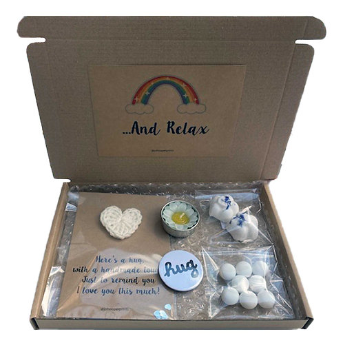 Hug & Relax in a Box Gift Set