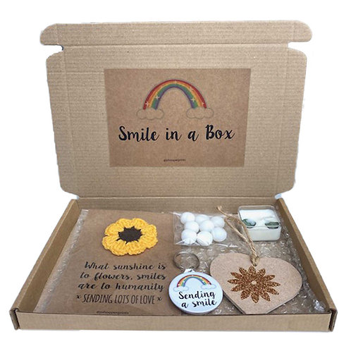 Smile in a Box Gift Set, Perfect for family or friend self isolating.