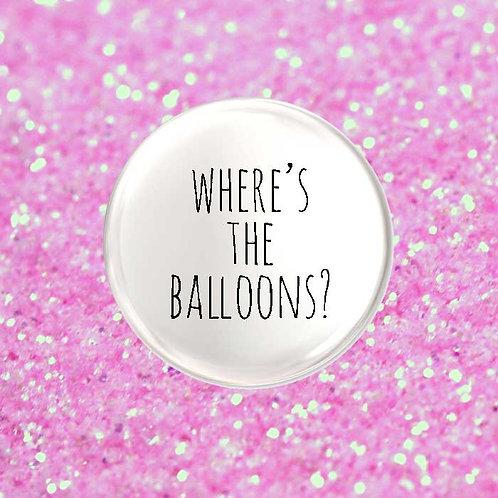 Where's The Balloons?