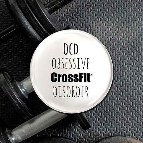 Obsessive Crossfit Disorder Badge
