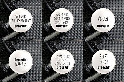Crossfit Badge Set
