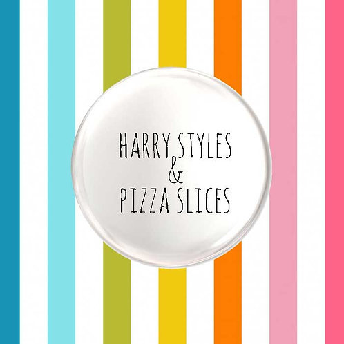 Harry Styles & Pizza Slices