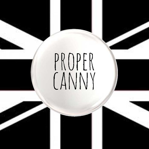 Proper Canny