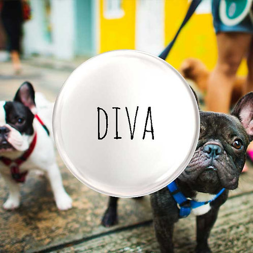 Diva Pet Badge
