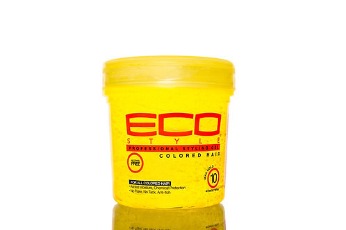 ECO STYLE COLORED HAIR GEL 16 FL OZ