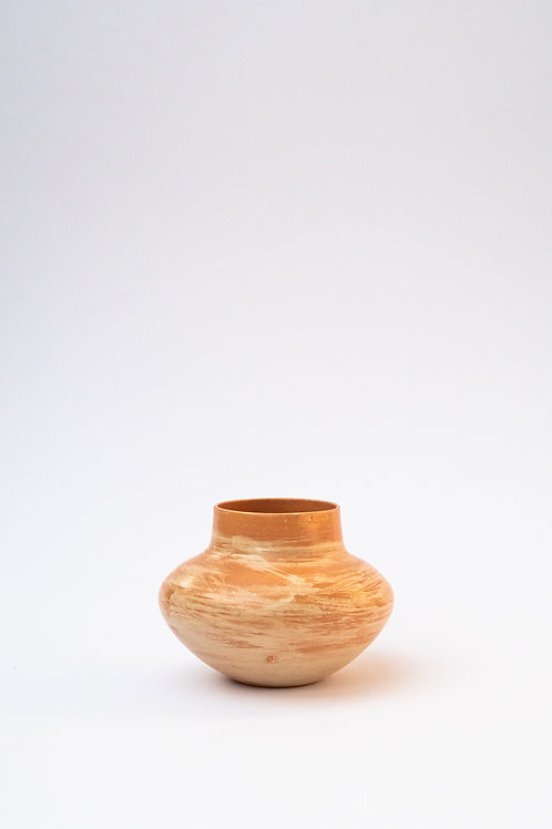 Vase couleur sable