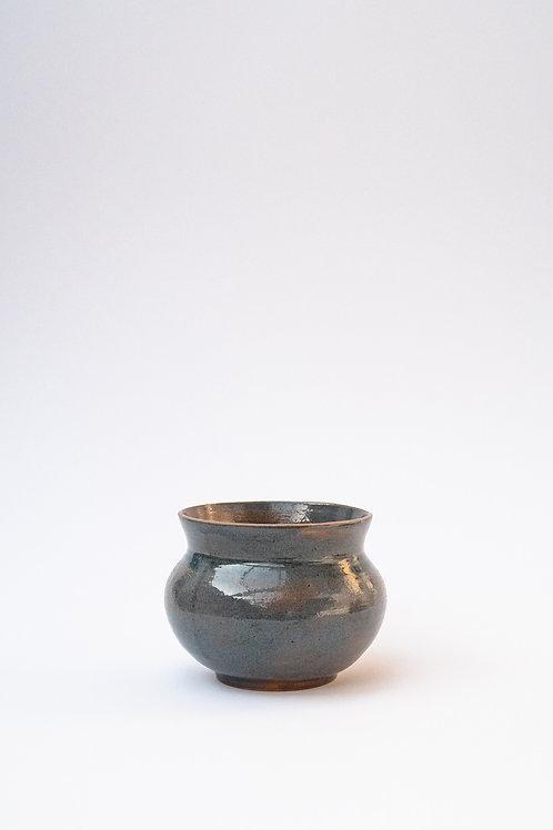 Grand pot bleu