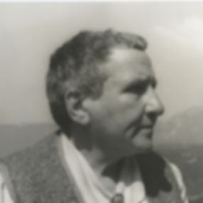 Gertrude Stein at Bilignin, June 13 1934