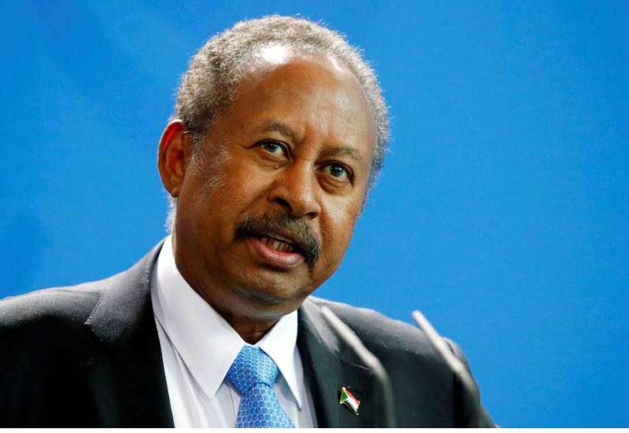 Reuters/Hannibal Hanschke FILE PHOTO:  Sudan's Prime Minister Abdalla Hamdok