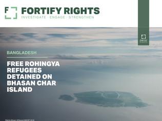 Bangladesh: Free Rohingya Refugees Detained on Bhasan Char Island