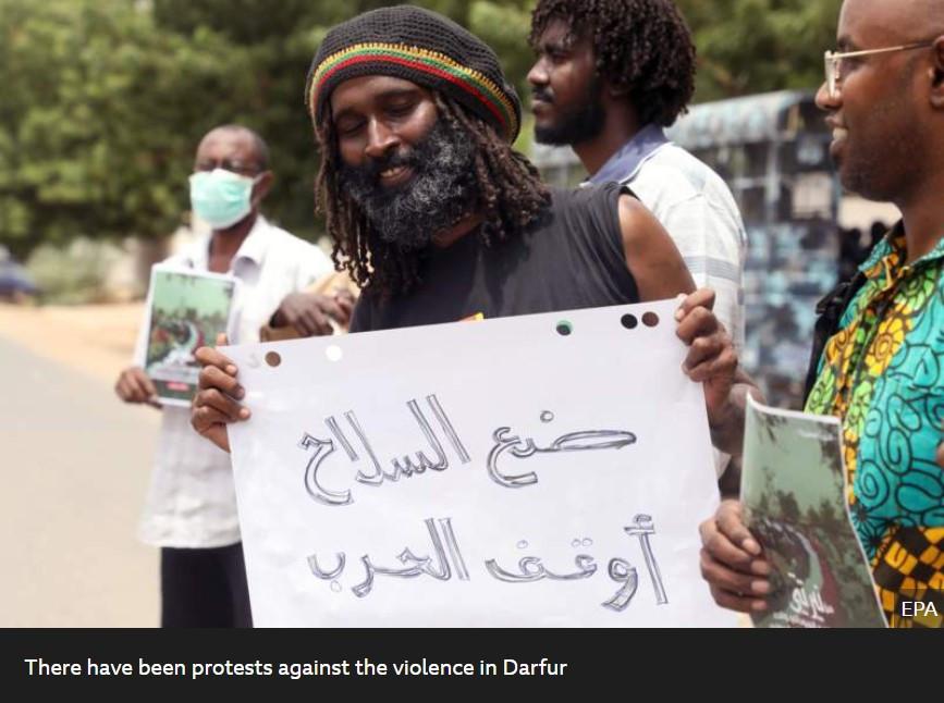 Protester. Source: BBC News