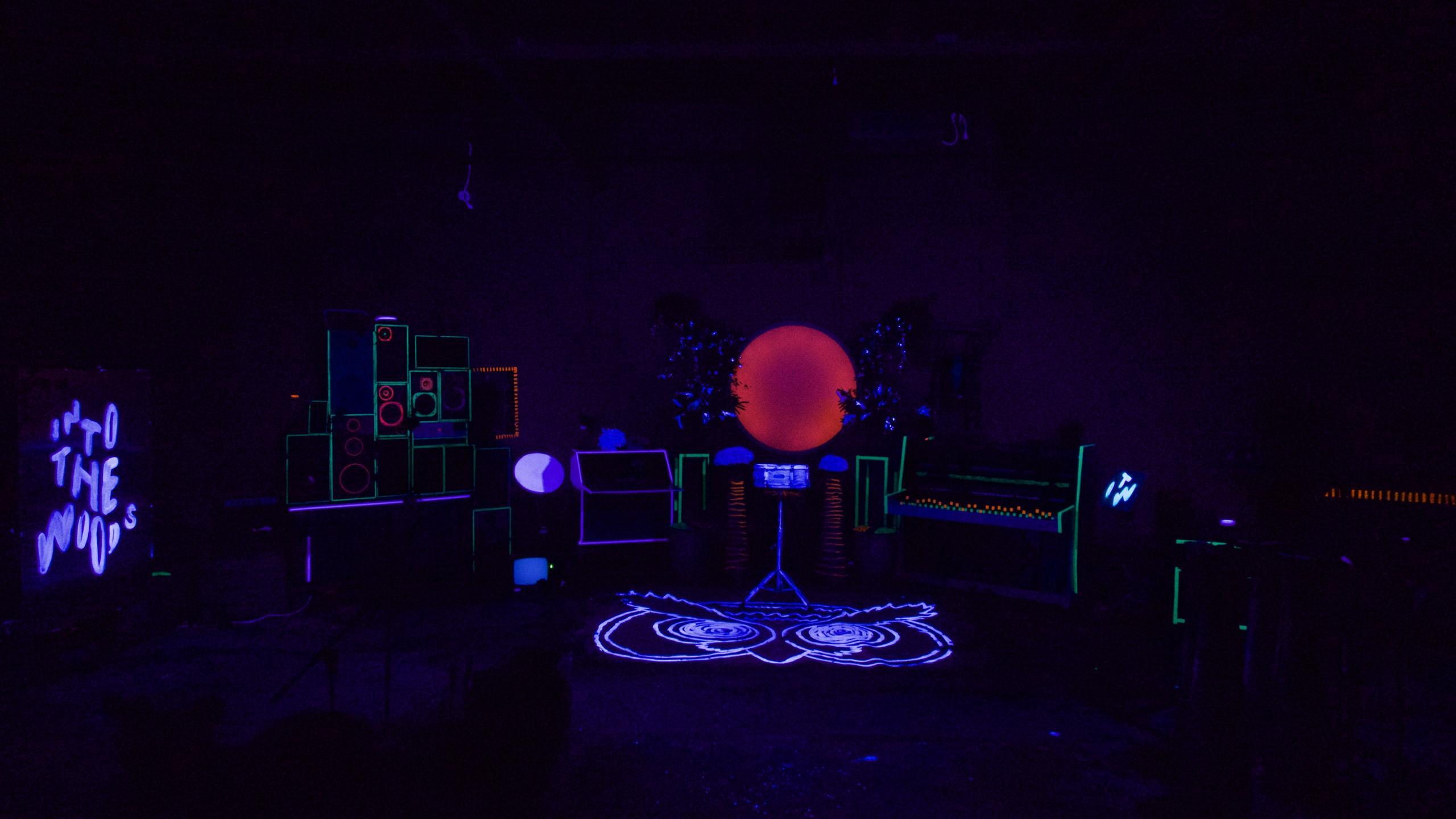 Blacklight set