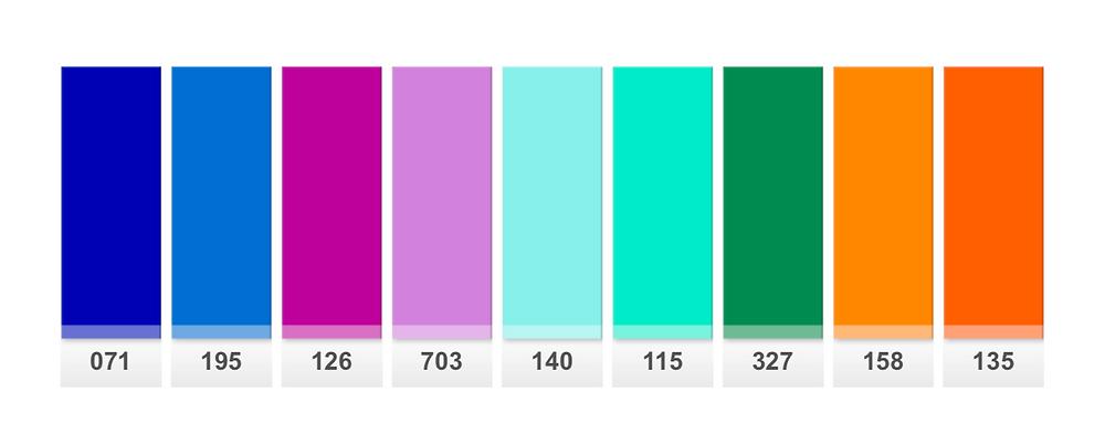 Selected Colour Palette