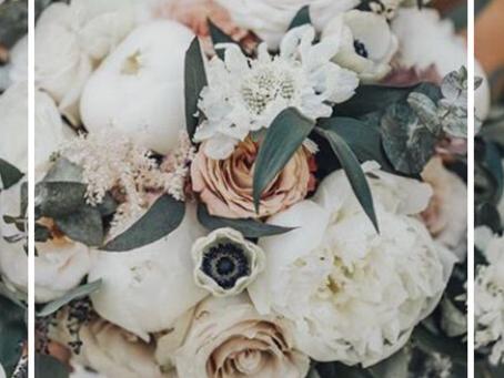 Neutrals & Ivory Bridal Bouquet