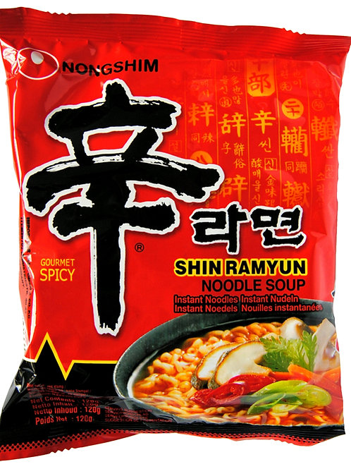 Nongshim Shin Ramyun Gourmet Spicy 120G