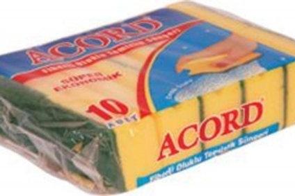 Accord Sponge Scourers 10PCS