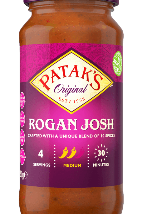 Patak's Rogan Josh 283G