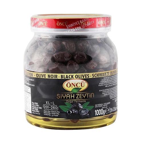 Oncu XL Black Olives 1KG