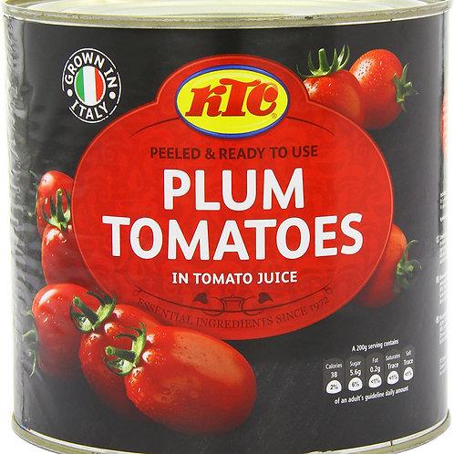KTC Plum Tomatoes 2.55KG