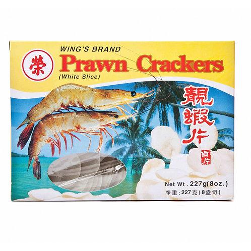 Wing's White Prawn Crackers 227G