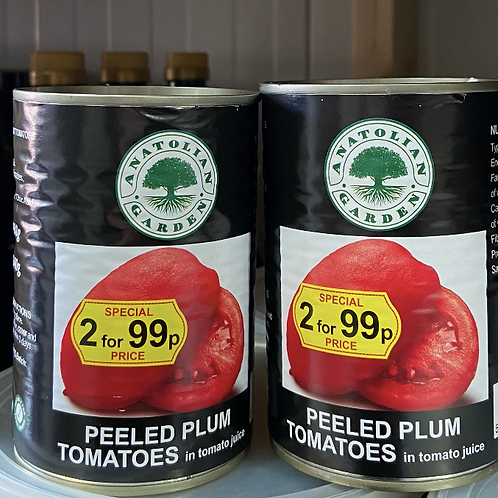 Anatolian Garden Peeled Plum Tomatoes 400G