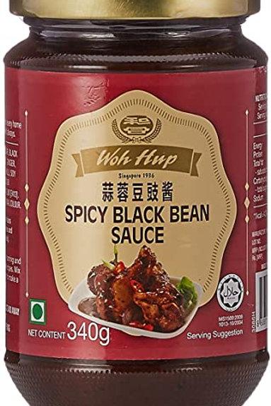 Woh Hup Spicy Black Bean Sauce 340G