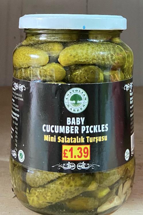 Anatolian Garden Baby Cucumber Pickles 680G