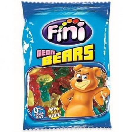 Fini Neon Jelly Bears 80G