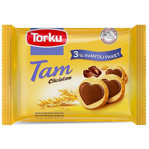 Torku Tam Chocolate Biscuits 3X83G