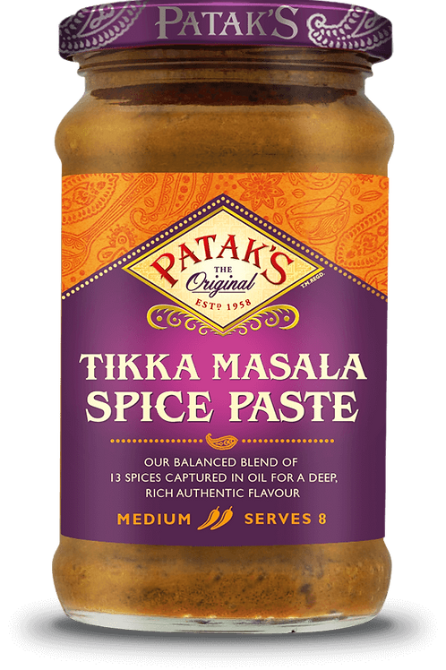 Patak's Tikka Masala Spice Paste 295G