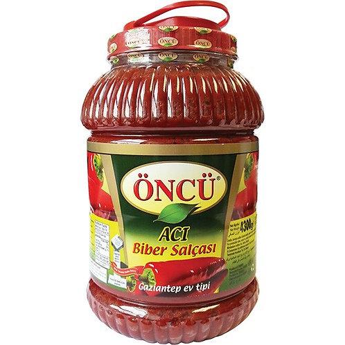 Oncu Hot Pepper Paste 4.35KG
