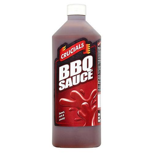 Crucials BBQ Sauce 1LT