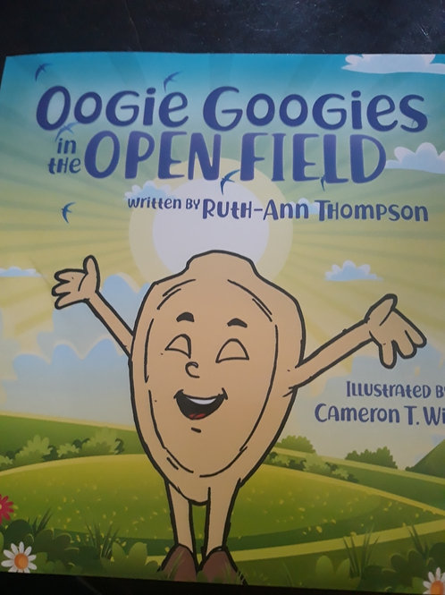 Oogie Googies in the Open Field - Book ONLY