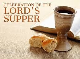 The Lord's Supper Sunday, June 7th