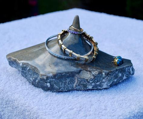 """Stone Jewelry Holder"""