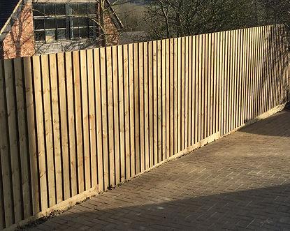 Fencing example in Ilmington.