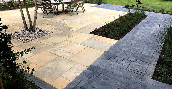 Patio and Blcok Paving example