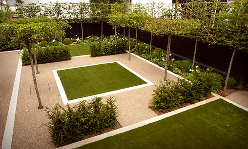 Garden design and landscapng example