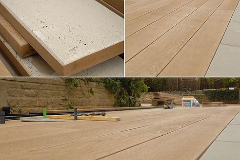 Millboard comosite decking finish