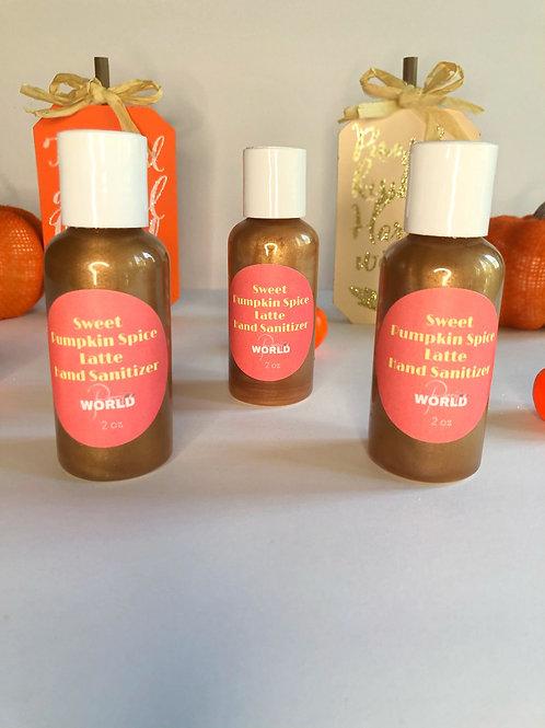 Parris World Pumpkin Spice Latte Hand Sanitizer