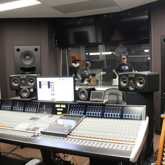 Our recording studio @Chico State