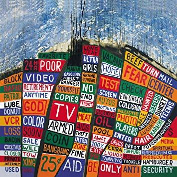 Radiohead album cover