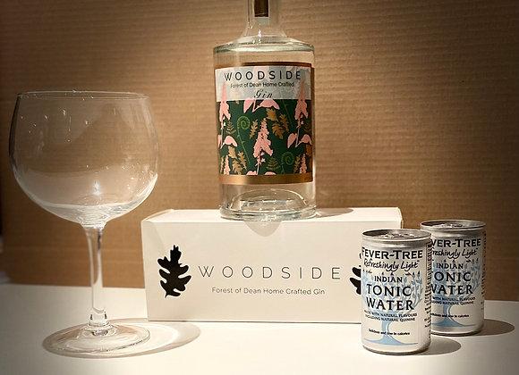 Woodside Gin 70cl Bundle