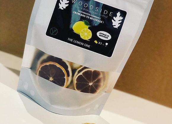 Dehydrated Lemon Garnish