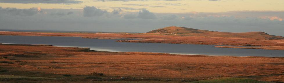 Islay Loch Gorm view from Drumlanrig, Carnduncan Wesstern isles Hebrides