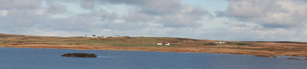 view over Loch Grom to Drumlanrig self catering holiday cottage on Islay