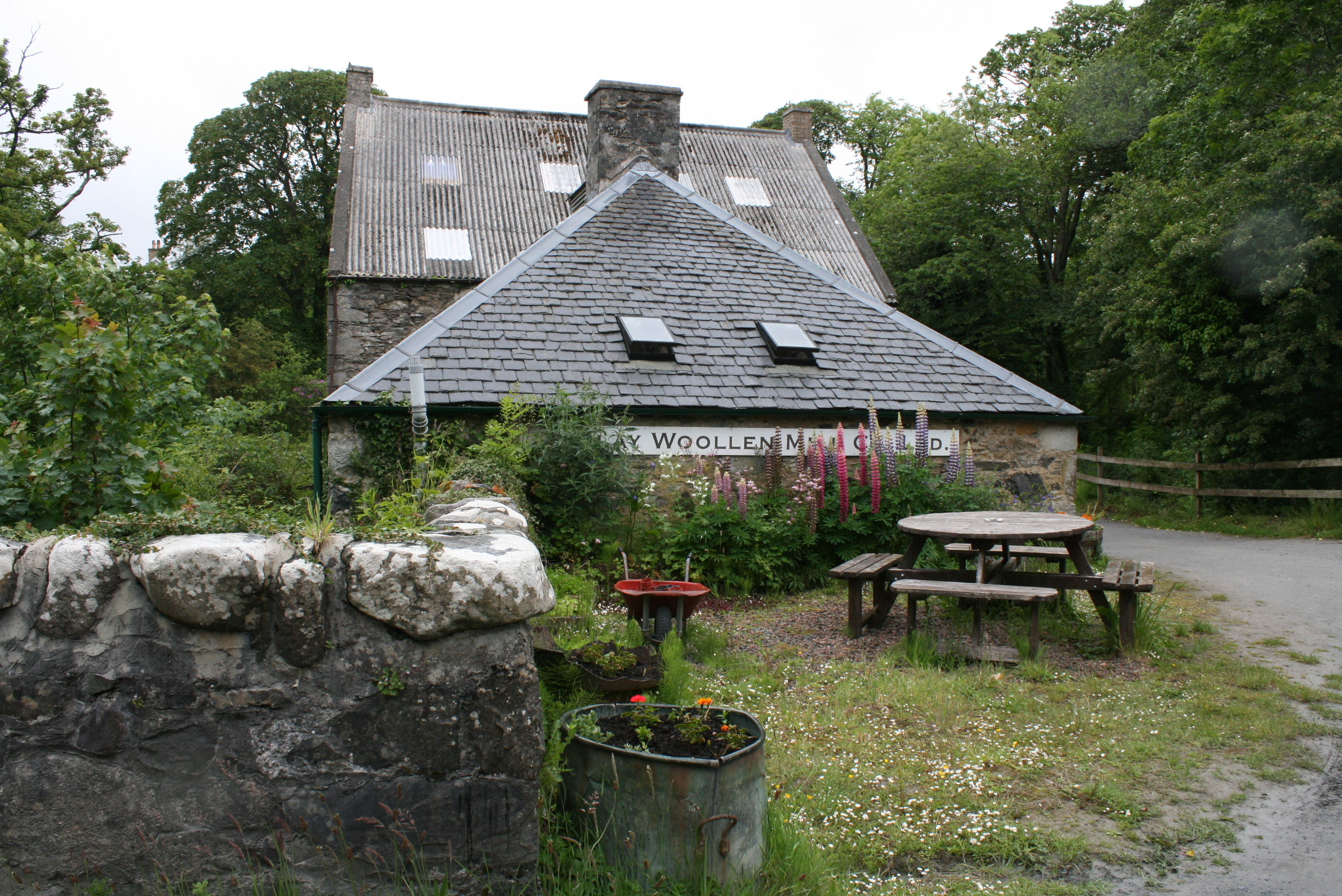 the Islay woollen mill