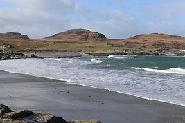 Sanaig beach