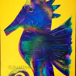 'Danny' the seahorse.