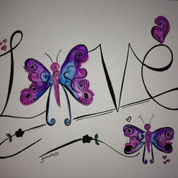 Love Butterfly's